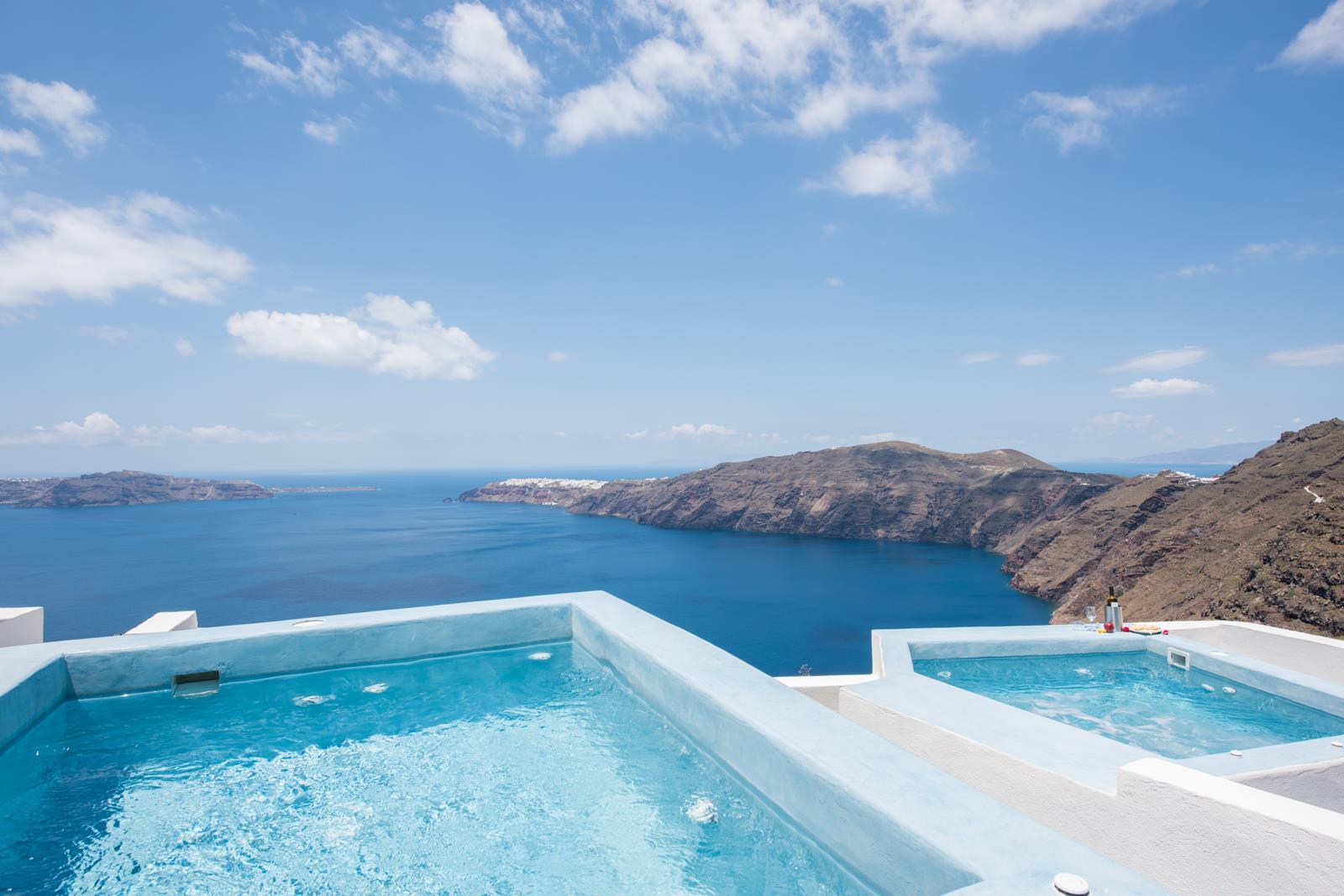 imerovigli santorini hotels - Gizis Exclusive Santorini Greece